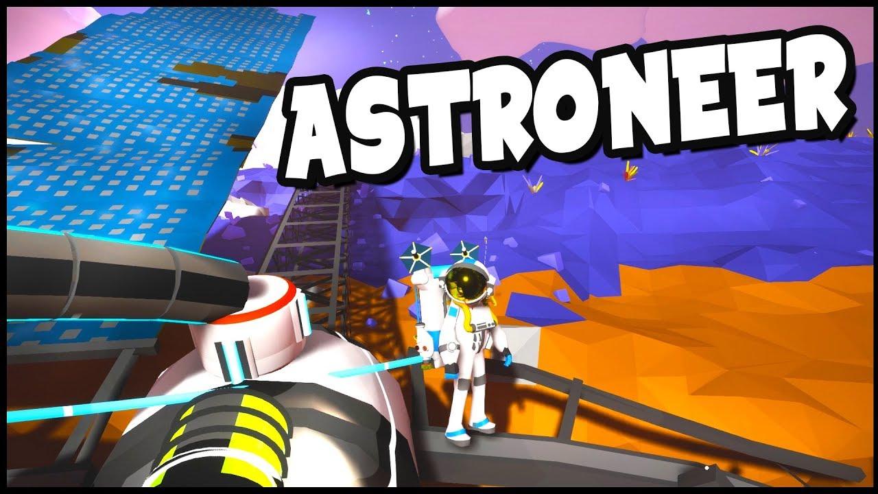 EPIC Power Glitch & MASSIVE Solar Panels! - Astroneer Gameplay