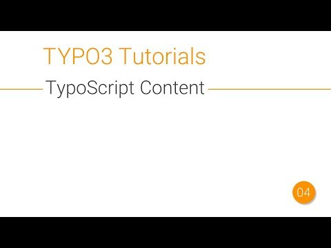 TYPO3 Adding Content and Images with TypoScript [004.1]