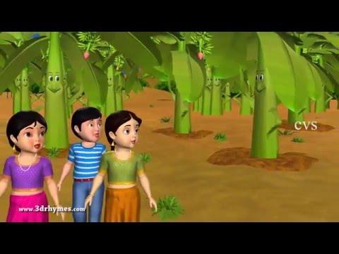 Arati chettu choodara   3D Animation Telugu rhymes for children