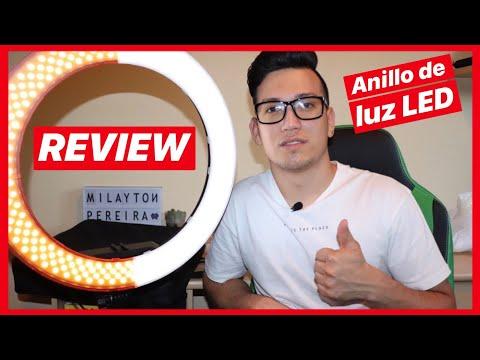 Anillo de Luz led para fotografías y vídeos para Youtube   LedRing Economico 2018