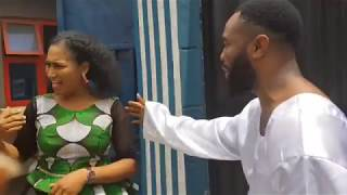 Church member brought wife to meet Woli Arole, see what he did all in the name of prayer...Lols!