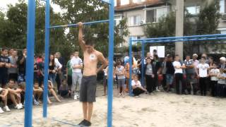 Street Workout Competition Stara Zagora