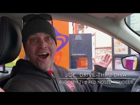 Dog & Joe Sho - Joe, Drive-Thru Diva: Rudolph, The Red-Nosed Reindeer