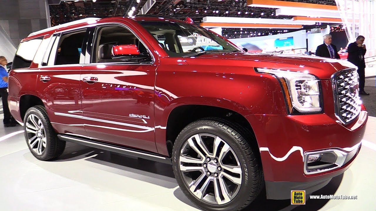 2018 Gmc Yukon Denali Exterior And Interior Walkaround 2018