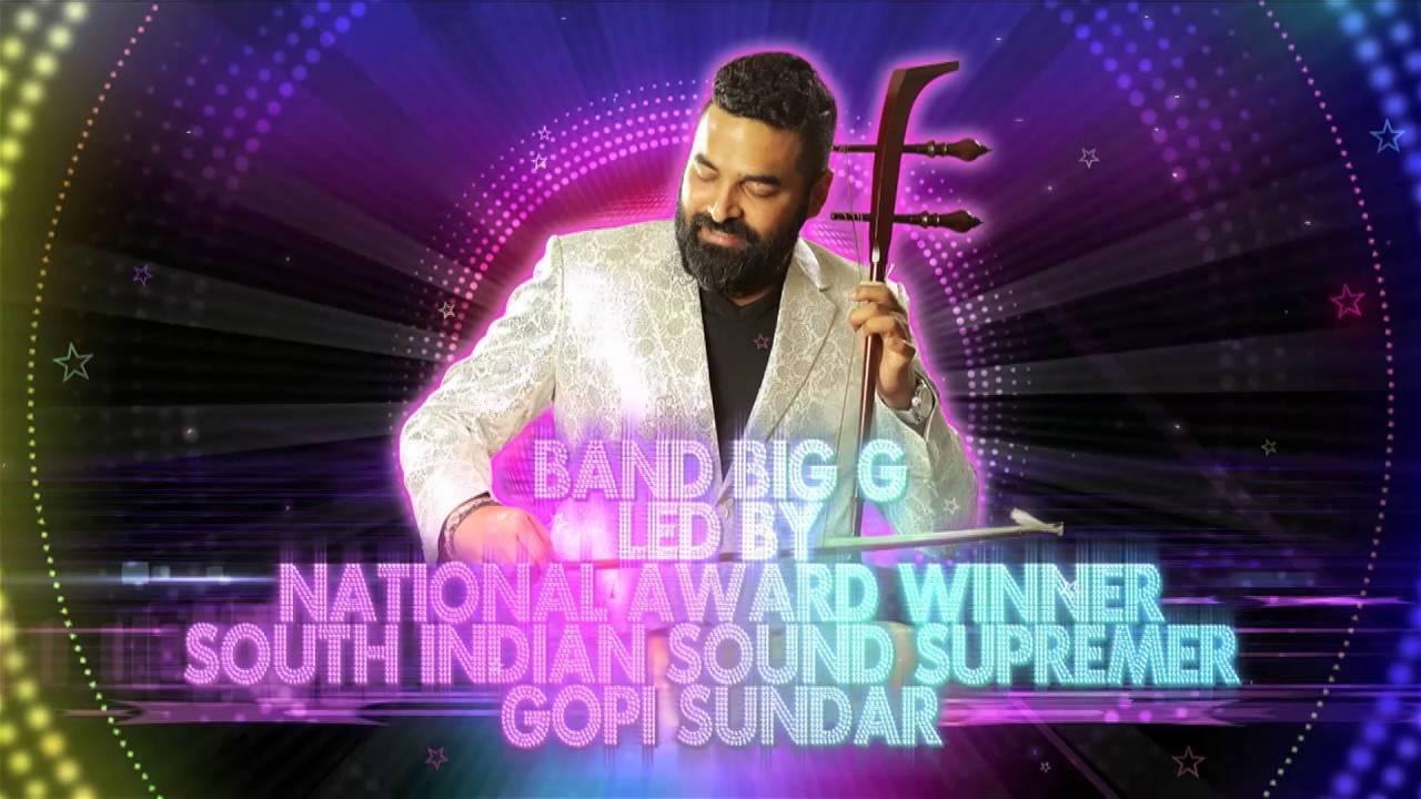 Presenting The Band Big G| A Gopi Sundar Music Band|