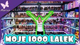 MOJE 1000 LALEK BARBIE!!!  *mega kolekcja lalek* SPECJAŁ NA 300 000 * Monster High Disney Princess