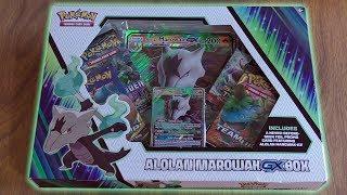 Pokemon TCG Alolan Marowak GX Box