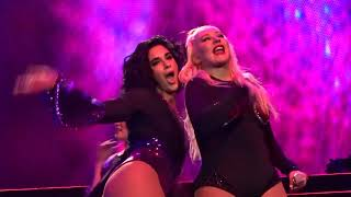 Download Christina Aguilera - Candyman + Accelerate + Feel This Moment - LIVE in Amsterdam 08.07.2019 Mp3 and Videos