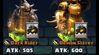 Clash Of Lords 2 Dark Rider Vs Demon Slayer