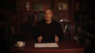 Слова человека (часть 1). Видео урок В. Довганя про влияние слов на человека, его жизнь