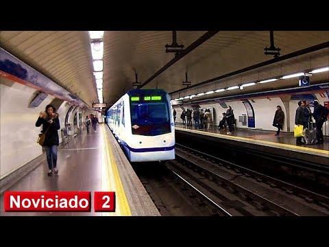 Noviciado L2 : Metro de Madrid ( Serie 3000 )