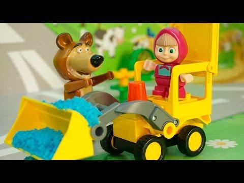 Мультфильмы Маша и Медведь новые серии Три товарища.Мультики для детей Мультик про дружбу.