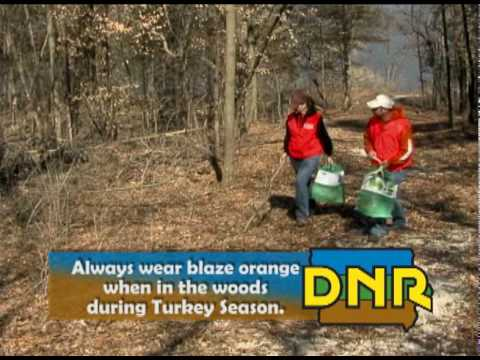 Safe Turkey Hunting, Iowa Department of Natural Resources