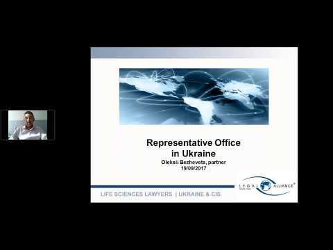 Webinar «Representative Office In Ukraine. Establishment, Types, Bottlenecks, Best Market Practice»