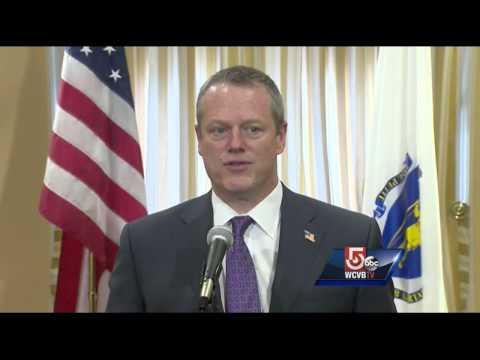 Gov. Charlie Baker reacts to Dzhokhar Tsarnaev death sentence
