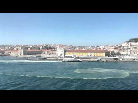 Port of Lisbon, Portugal - Time-lapse 2