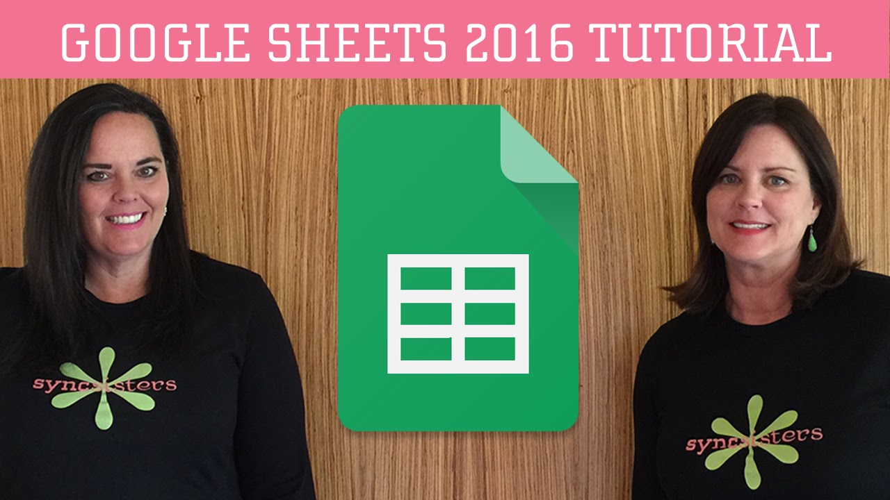 Google sheets 2016 tutorial youtube baditri Image collections