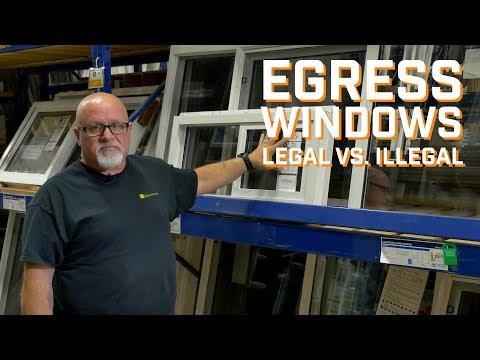 Legal vs Illegal Egress Windows - Handyco