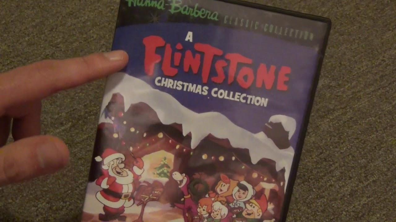Hanna Barbera Christmas Dvd.A Flintstone Christmas Collection Dvd R Unboxing Hanna Barbara Classic