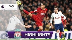 Firmino sichert Liverpool Rekord! | Tottenham Hotspur - FC Liverpool 0:1 | Premier League 2019/20