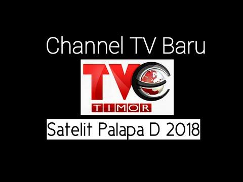 Channel TV Baru Satelit Palapa D 2018 TVE Timor