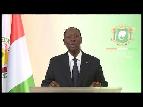 Alassane Ouattara accorde l'amnistie à Simone Gbagbo et plusieurs personnalités (Discours An 58)