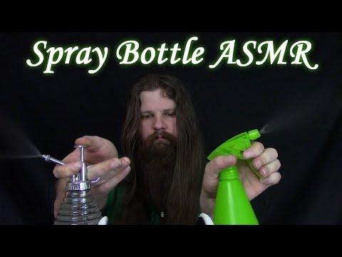 Binaural ASMR Spray Bottles and Tapping **no talking**