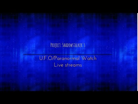 UFO watch (Noon/Cloudy)