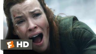 The Hobbit: The Battle Of The Five Armies - Kili's Sacrifice Scene (7/10) | Movieclips