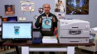 Oki White Toner Printers - C920wt - Real World Test - Memorial Shirts -