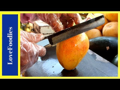 FRUIT NINJA of Mangoes | Amazing Fruits Cutting Skills | Indian Street Food In 2018