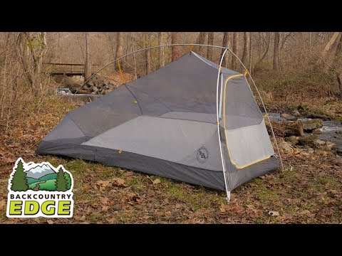 Big Agnes Fly Creek HV UL 1 mtnGLO Tent & Big Agnes Fly Creek HV UL 1 mtnGLO Tent - YouTube