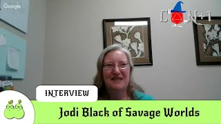 Jodi Black from Savage Worlds Interview