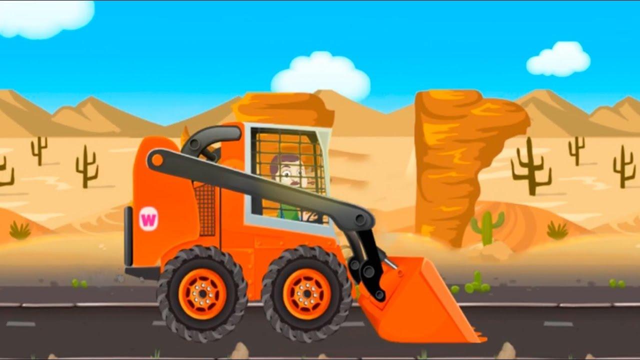 Машинки для детей - Развивающий мультфильм игра про машинки. Мультики для детей для самых маленьких