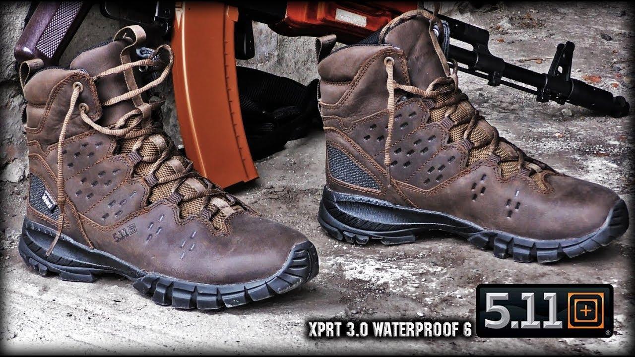 5.11/Tactical XPRT 3.0/Waterproof 6/Boot