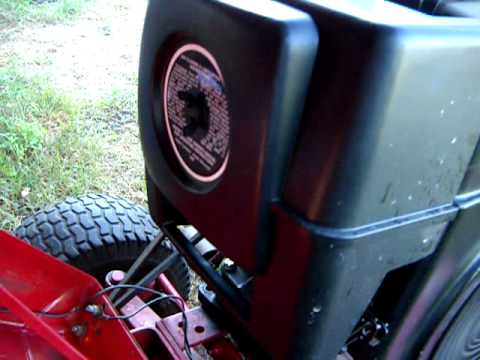 Wheel Horse Wiring Diagram A Garage Consumer Unit 312-8 Tractor - Youtube