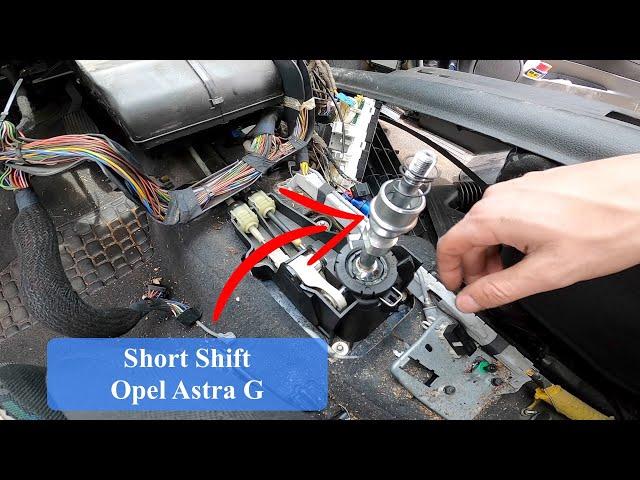 Cómo montar Short Shift Opel astra G   Bertone Project