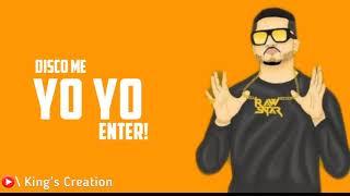 Achko Machko Gaaveli WhatsApp Status | Yo Yo Honey Singh | King's Creation |