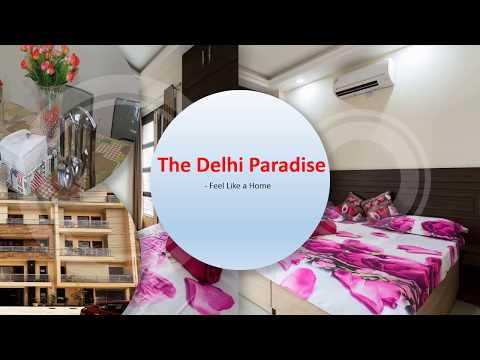 The Delhi Paradise - Comfortable 3BHK Apartment in Delhi