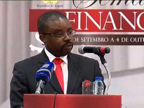Ministro Das Finanças Garante Regular Aplicação Dos Recursos Utilizados No  OGE   TV Zimbo  
