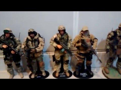 Figuras de ação Soldier Story, Hot Toys, Toys City - Escala 1/6