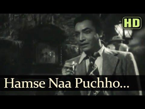 Hamse Naa Puchho Koyee Pyar Kya Hai - Songs Of Kali Ghata - Kishore - Bina Rai - Shankar Jaikishan