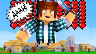 Minecraft : FIQUEI TÃO GRANDE QUE DESTRUÍ UMA CIDADE INTEIRA !!