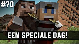 Minecraft survival #70 - EEN SPECIALE DAG!