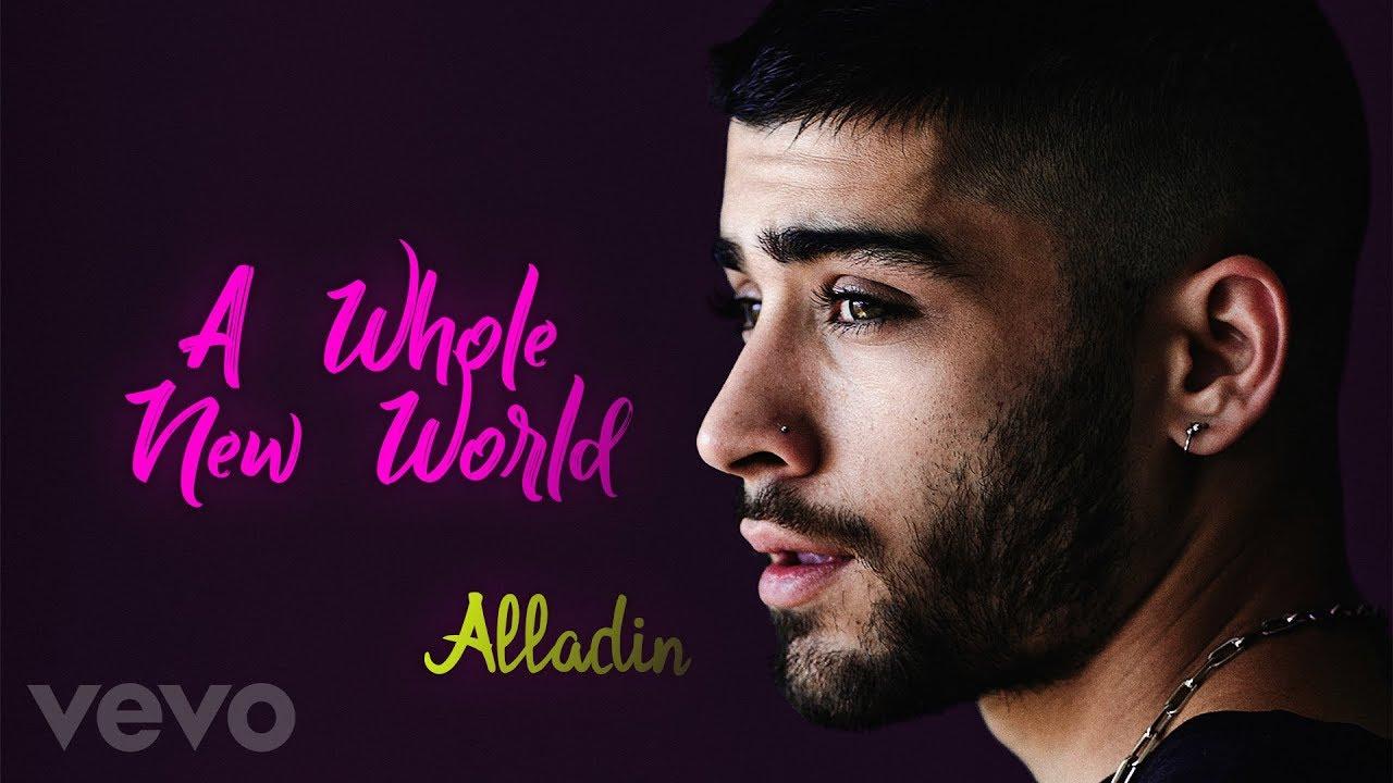 "Download ZAYN, Zhavia Ward - A Whole New World (End Title) (From ""Aladdin"" / Lyrics, Official Audio)"