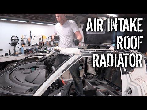 Budget Lotus Evora Pt 9 - Air Intake, Roof, And Radiator