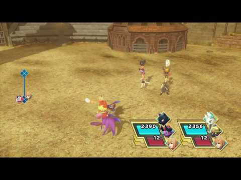 Let's Play World of Final Fantasy Icicle Ridge Optional Ridge/Coliseum