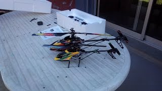 Unboxing helicopter v912 and helicopter v913