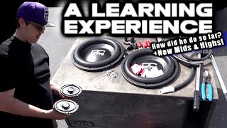 A Car Audio Learning Experience - How did he do? 2014 Nissan Altima  \