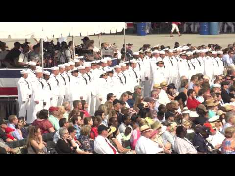 U.S. Navy - USS Montgomery (LCS 8) Full Commissioning Ceremony
